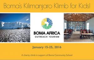 Kili Charity Klimb 2016
