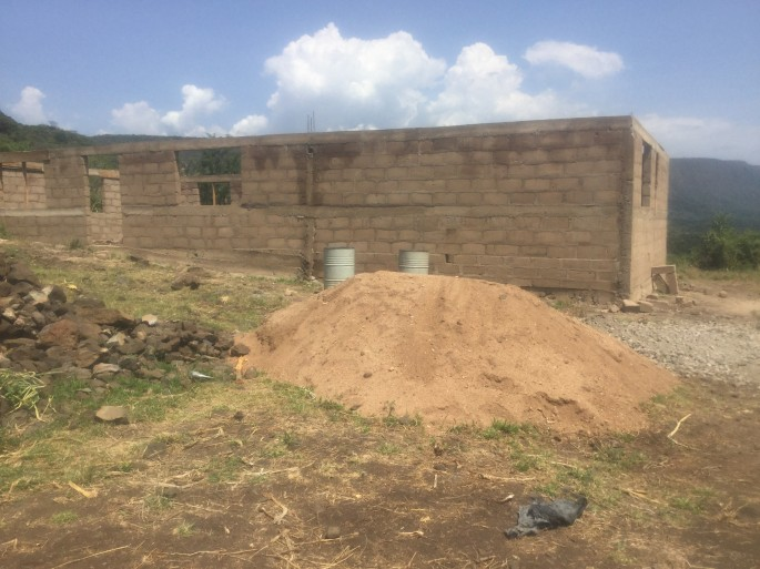 communtiy centre- 2016- pictures- boma africa
