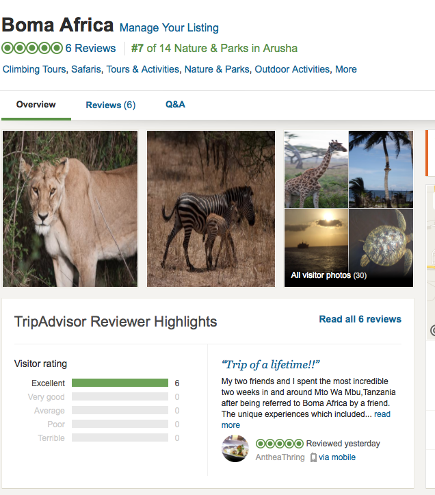 6reviews- trip advisor- 2016- other- picture- boma africa