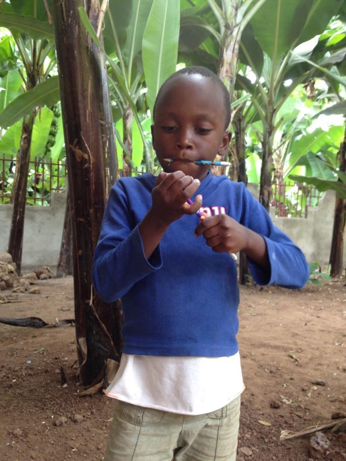 Katie- sponsorship- Boma Africa