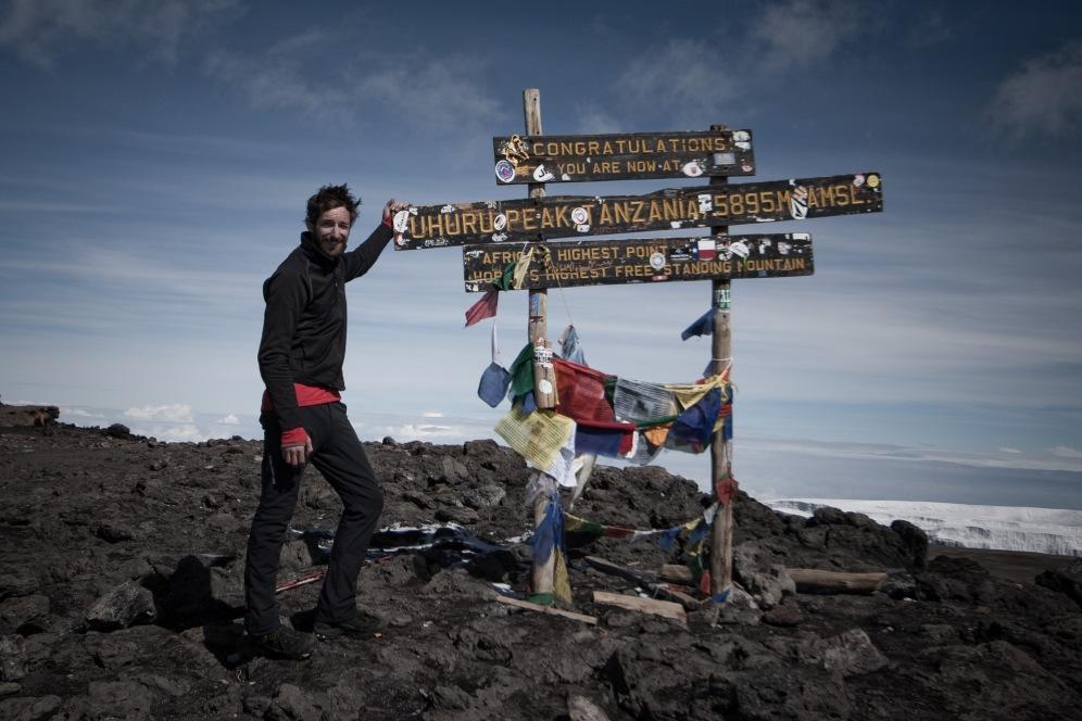 Uhuru Peak, Kilimanjaro. Photo by Andrew Knapp. Boma Africa