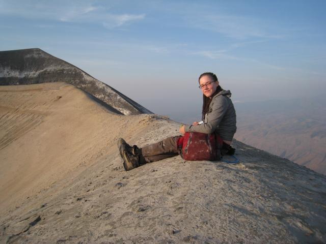 jocelyn lengai- trekking- picture- boma africa