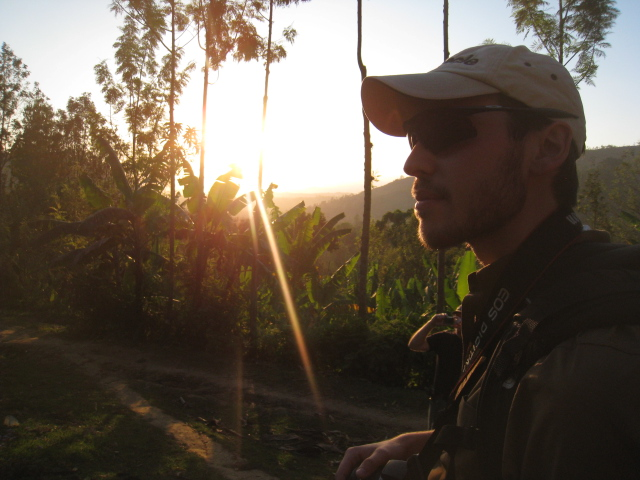Glen @ Kevesi at sundown - Boma Africa