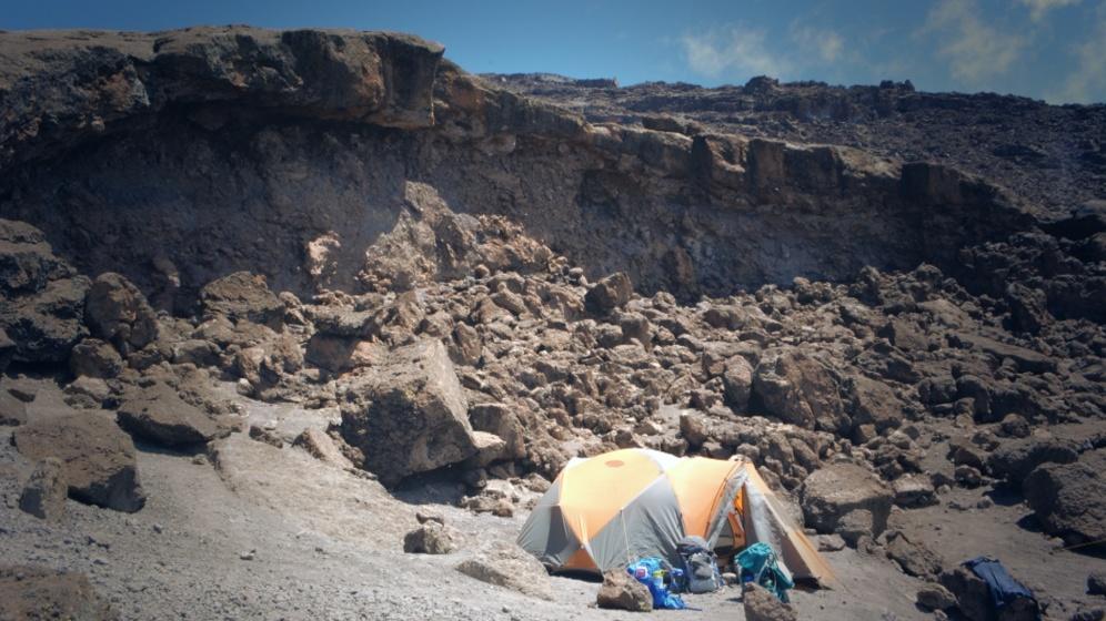 Camp, Kilimanjaro. Photo by Innocent Mafuru. Boma Africa