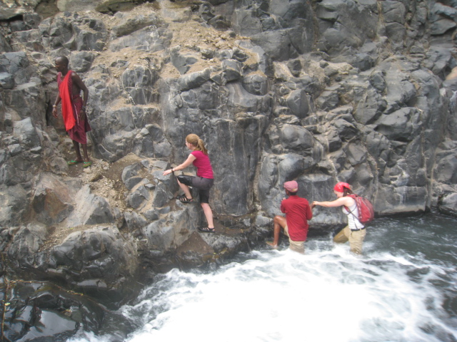 Waterfalls Trek at Lake Natron - Boma Africa