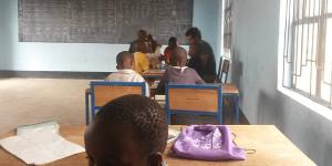 Boma Community School classroom