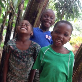 Boma Community School - Laughing Students