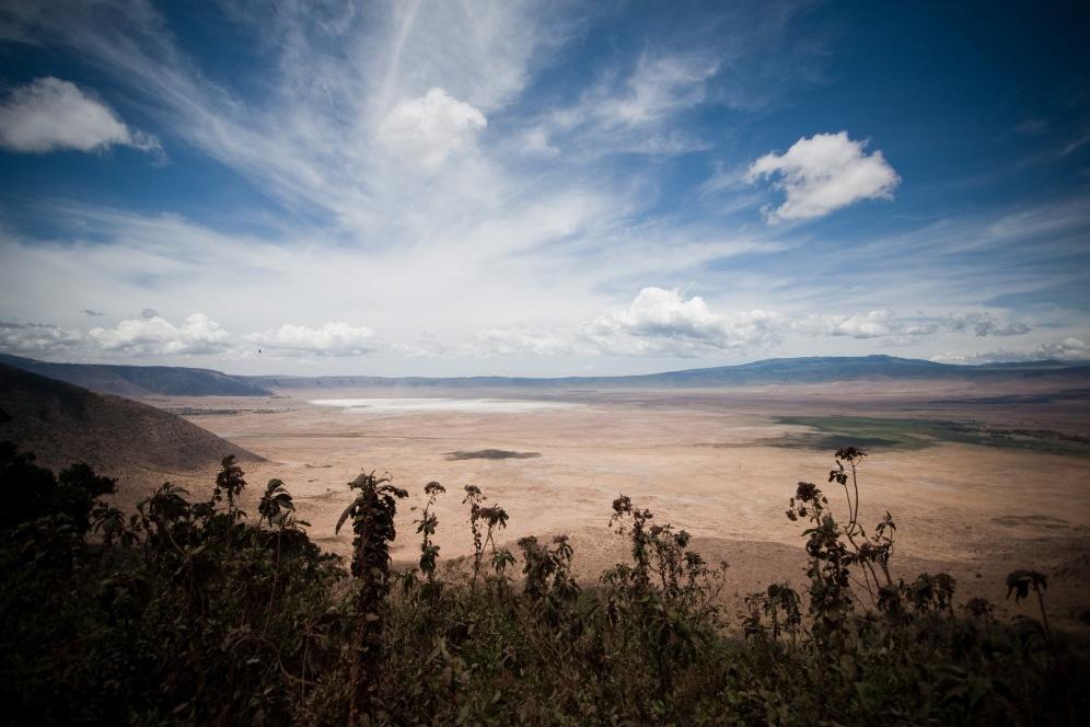 Ngorongoro Crater glacier boma africa safari tanzania kilimanjaro wildlife mountain