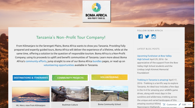 screenshotwebsite. other- picture- boma africa