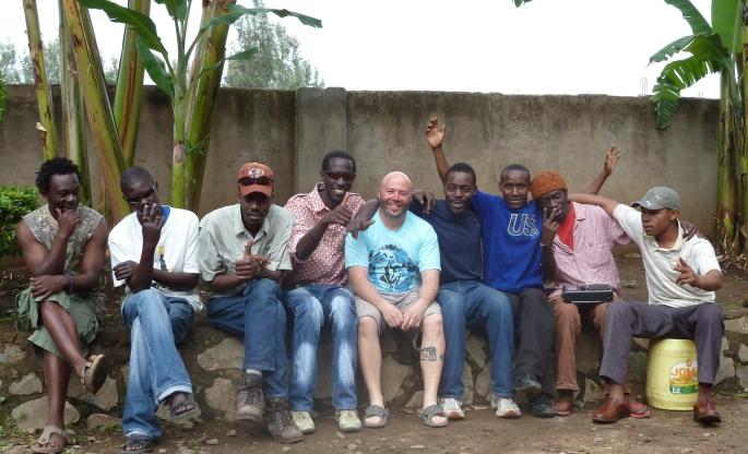 Kilimanjaro team Boma AFrica