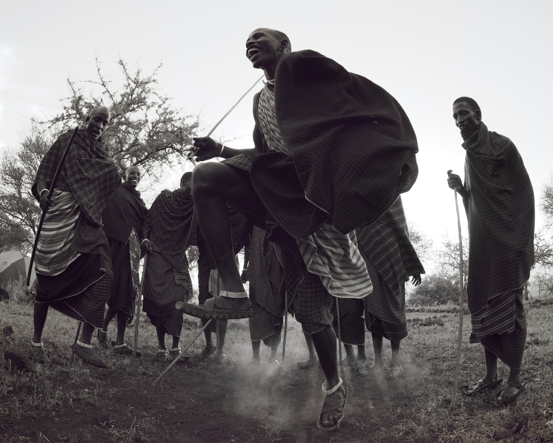 Maasai Celebration by Jarrad Seng